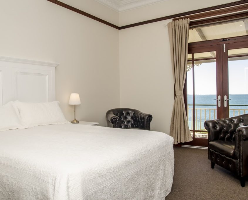 luxury balcony accommodation
